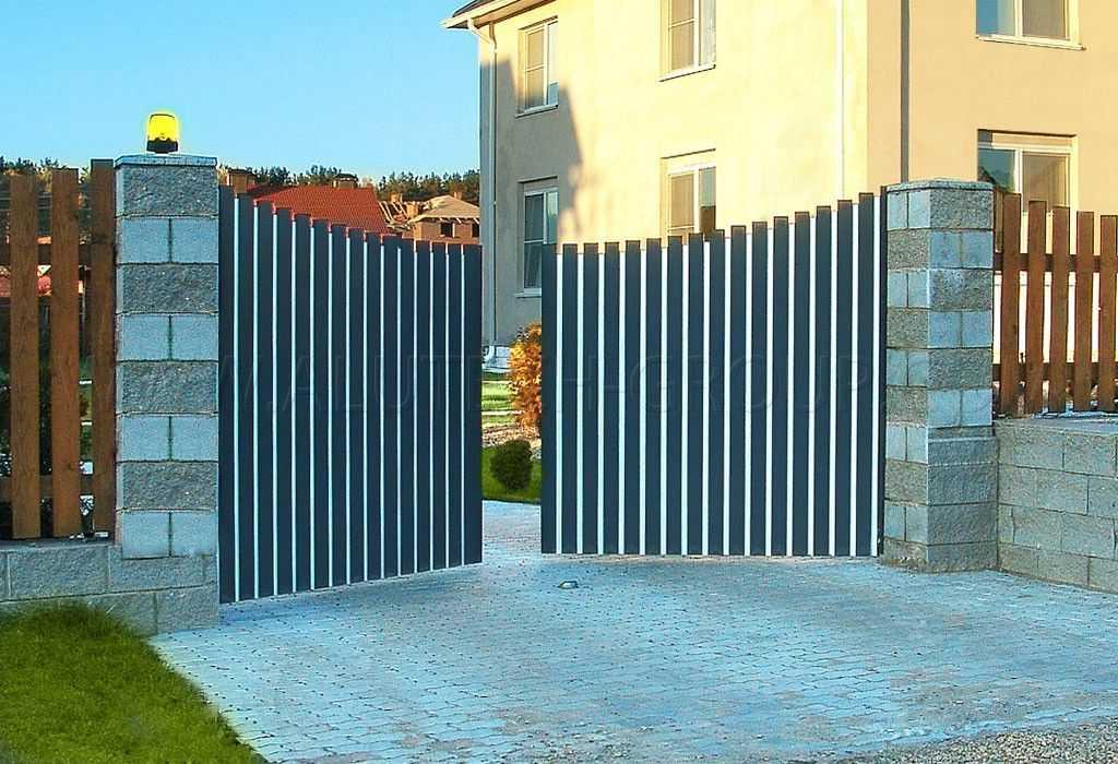 Розпашні ворота ADS400